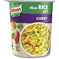 Knorr Mon Rice Pot Riz Curry Indien 87 g - Lot de 4