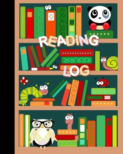 """Reading Log: Gifts for Young Book Lovers / Reading Journal [ Softback * Large (8"""" x 10"""") * Child-friendly Layout * 100 Spacious Record Pages & More... ] (Kids Reading Logs & Journals)"""
