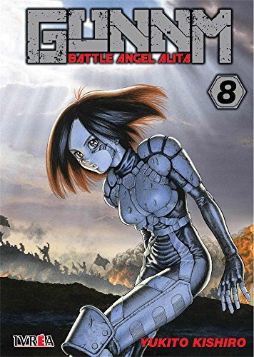 Gunnm Battle Angel Alita 8 por Yukito Kishiro