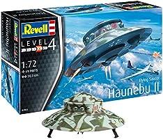 Revell 03903 12 Modellbausatz Flying Saucer Haunebu Im Maßstab 1 Level 4, 1:72 Scale