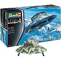 Revell 03903 Flying Saucer Haunebu Modellbausatz, 20 cm