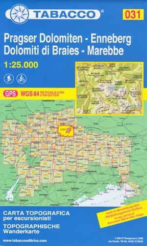 31-pragser-dolomiten-enneberg-dolomiti-di-braies-marebbe-1-25-000-randonne-topographique-le-cyclisme-et-le-ski-de-randonne-carte-dolomites-alpes