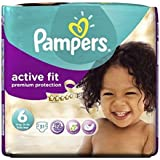 Pampers Taille D'Ajustement Actif 6 (Extra Large) Essential Pack 31 De Couches -
