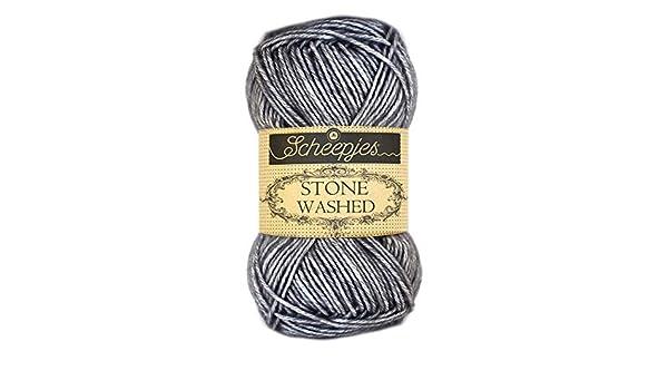 Stone Washed 802 di Scheepjes filato di colore/quarzo fum/é
