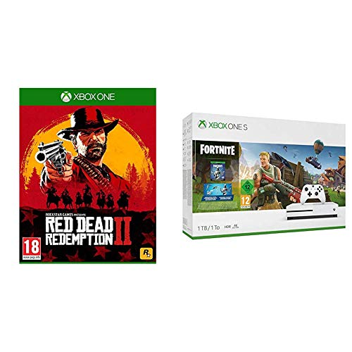 Xbox One S 1 To + Fortnite + RDR 2