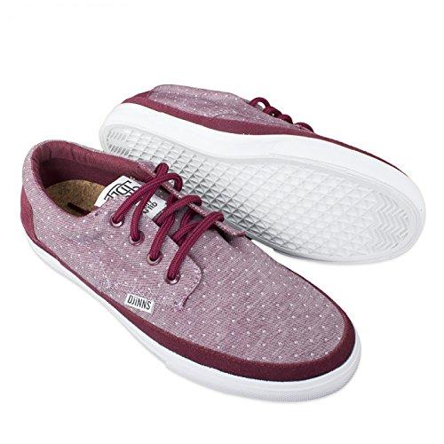 Djinns, Sneaker Uomo (oxforddots-red)