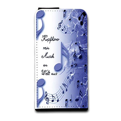 Flip Style vertikal Handy Tasche Case Schutz Hülle Foto Schale Motiv Etui für Apple iPhone 4 / 4S - V4 Design8 Design 6