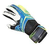 Best Football Gloves For Receivers - Reusch Glove Jr Receiver SG Finger Support blanco-azul Review