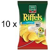 Funny-Frisch Riffels Naturell (10x 150g Tüten)
