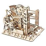 ROBOTIME Mechanischer Bau Modell Kit - Lift Coaster - 3D Puzzle Gebäude - Hobby Geschenk für Jungen und Erwachsene (Lift Coaster)