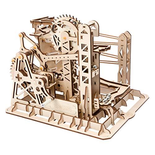 ROBOTIME Mechanischer BAU Modell Bausatz - 3D Puzzle Gebäude - Hobby Geschenk für Jungen und Erwachsene