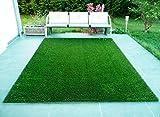 CHETANYA High Density, Artificial Grass, Artificial Grass Carpet,Mat for Balcony, Lawn, Floor Mat,Foot