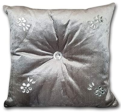 Other kylie minogue style Cushions velvet Diamanté Chic Filled Scatter Cushion square