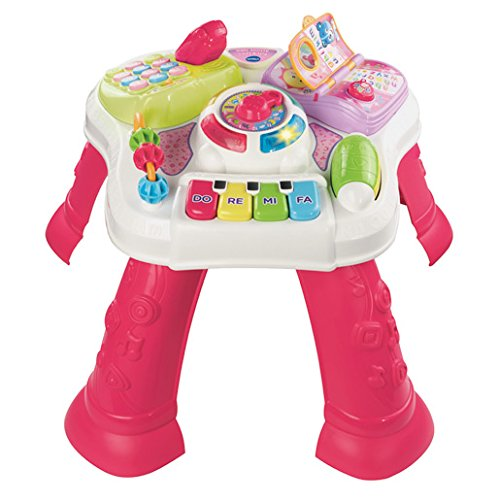 Image of VTech Play and Learn Activity Table - Multi-Coloured