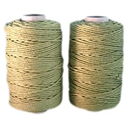 Green Mason Line Extra Strong Cotton Twine ( Small Packing )