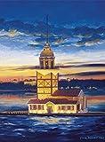 Heidi heidi4159Maiden 's Tower, Istanbul–Türkei Art Puzzle (500Stk)