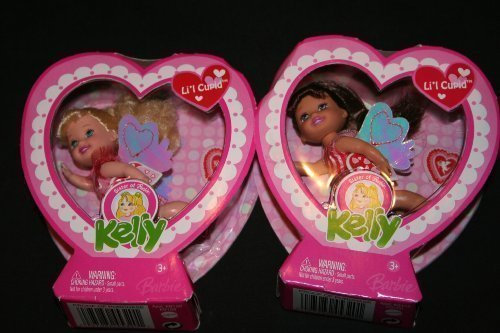 Barbie Kelly Valentine Doll Set - Kelly and Gia by Mattel