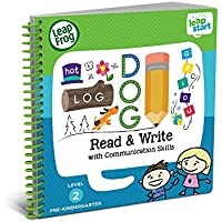 LeapFrog LeapStart Preschool Activity Book: Read and Write and Communication Skills