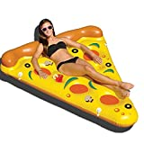 Pool-Luftbett Strandmatte Strand Pizza Float Floß Spaß Kinder Schwimmen Party Spielzeug Sommer Pool Lounge Floß Surf Strand Spielzeug