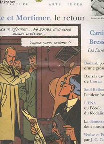 Le lecteur. litterature. arts idees. nov-dec 1997 ...