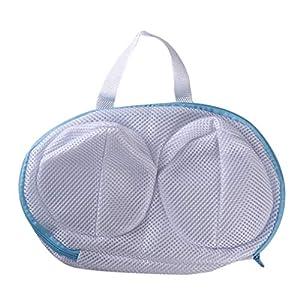 Sevenfly BH mesh waschbeutel für wäschedraht büstenhalter Waschmaschine Schutz Underwear reiseveranstalter Tasche (weiß)