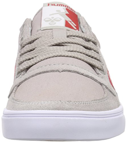Hummel Slimmer Stadil Duo Lo, Baskets Basses mixte adulte Gris (Dove 1018)
