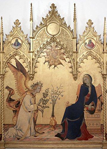 Preisvergleich Produktbild Simone Martini and Lippo Memmi - Annunciazione - Small - Matte Print