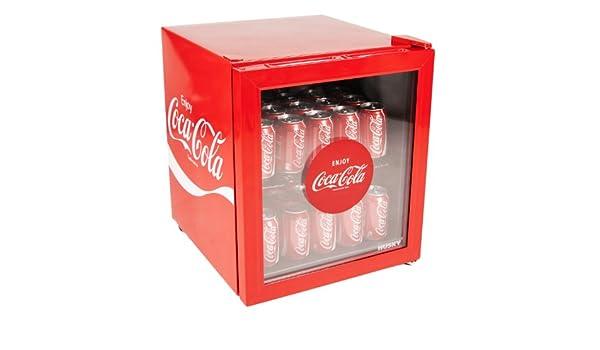 Mini Kühlschrank Cola Dose : Amazon coca cola glas front mini kühlschrank