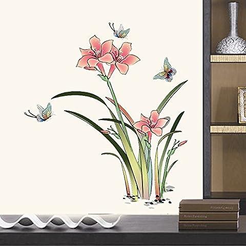 Mur imperméable pvc encre feng shui Seon-hwa de troisième génération de mur d
