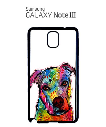 Dog Animal Doggie Cute Painting Mobile Cell Phone Case Samsung Galaxy S5 Black Blanc