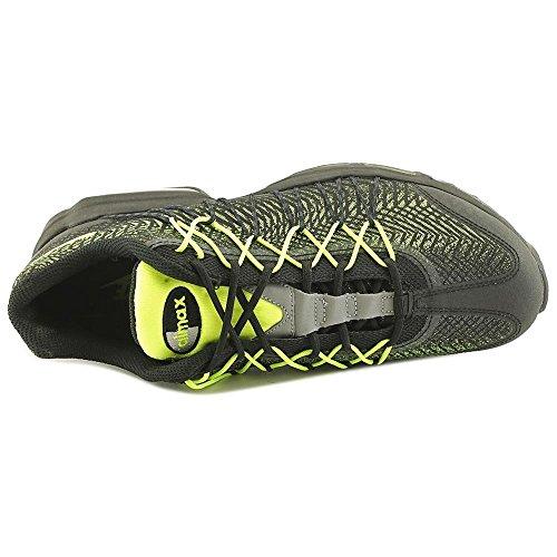 Nike Herren Air Max 95 Ultra Jcrd Laufschuhe, Grau, Talla black volt dark grey metallic silver 007
