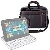 DURAGADGET Maletín Compatible con Ordenador portátil y Tablet Educativo VTech - Genio Little App - con Asa Regulable para El Hombro