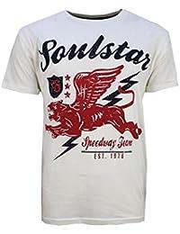 SoulStar - T-shirt - Homme blanc cassé ecru