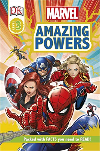 Marvel Amazing Powers (DK Readers Level 3) (English Edition) (Dk Readers Level 3)