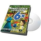 Times Table Adventure 6X Table : The Revishroom Encounter [DVD]