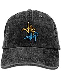6536995f1b8 Osmykqe Hip Hop Letter Denim Hat Adjustable Unisex Stretch Baseball Cap  Y020129