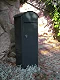 SafePost 70-5 Combi Briefkasten anthrazitgrau 100 x 37,5 cm