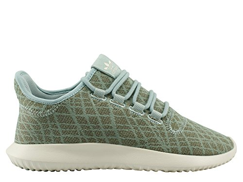 adidas Damen Tubular Shadow Sneakers Grün (Tactile Green/tactile Green/chalk White)