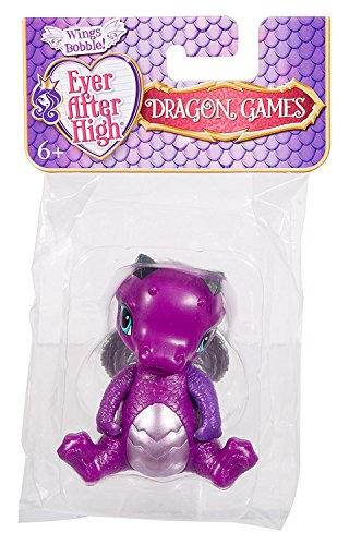 Ever After High - DNR60 - Drachen Spiele - Raven Queen Baby Doll - 4 Zoll Wing Bobble Figur