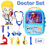 FunBlast Doctor Kit Toys For Kids, Doctor Set Toys With Light And Sound (Blue)