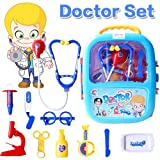 #3: FunBlast Doctor Kit Toys for Kids, Doctor Set Toys with Light and Sound (Blue)