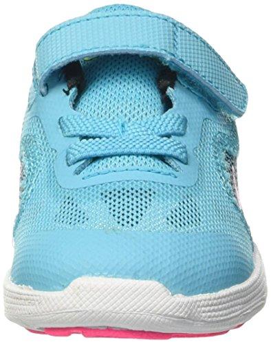 cheap for discount e75a4 17e93 Nike Revolution 3 Tdv, Chaussures Premiers Pas pour Bébé Fille Multicolore  - Multicolore (Gamma ...