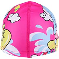 P Prettyia Cappello da Piscina Impermeabile da Piscina per Bambini -  Elefante Rosa 85204ca6db88