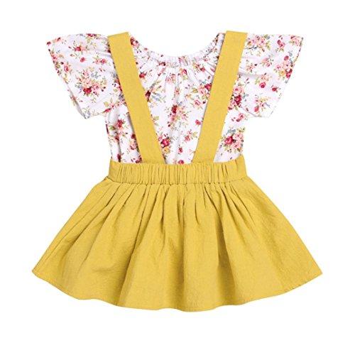 982a157544d Vestido para Niñas, K-youth® Ropa Bebe Niña Vestido de falda de ...