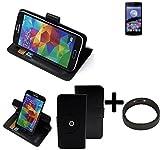 TOP SET: 360° Schutz Hülle Smartphone Tasche für Switel