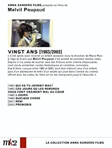 Melvil Poupaud : Vingt ans (1983/2003)