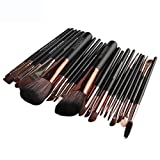 YanHoo Bürste Neue 22 stücke Kosmetik Make-Up Pinsel Rouge Lidschatten Pinsel Set Kit Erröten Kosmetik Concealer Pinsel Bürste Trimmer Neu 2018 Pinsel Set