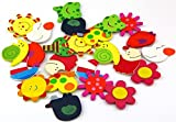 Infinxt Colorful Wooden Cartoon or Natur...