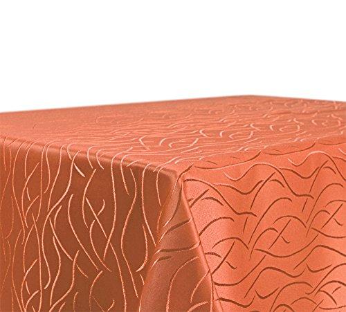 Mantel mesa, colour elegir, rayas damasco tela, no