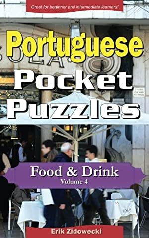 Portugais Pocket - Portugese Pocket Puzzles - Food & Drink
